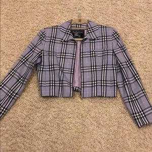 Vintage Burberry zip up- in perfect condition